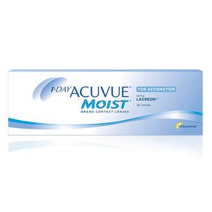 Acuvue Moist One-Day for ASTIGMATISM (30 lenses pack)