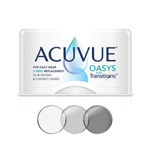 Load image into Gallery viewer, Acuvue Oasys with Transitions Bi-Weekly (6 lenses pack)