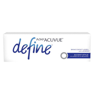 Acuvue New Define Accent Style One-Day Color Lenses (30 lenses pack)