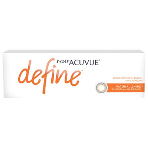 Acuvue New Define Natural Shine One-Day Color Lenses (30 lenses pack)