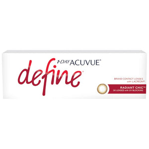 Acuvue New Define Radiant Chic One-Day Color Lenses (30 lenses pack)