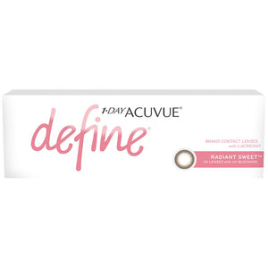 Acuvue New Define Radiant Sweet One-Day Color Lenses (30 lenses pack)