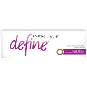 Acuvue New Define Vivid Style One-Day Color Lenses (30 lenses pack)