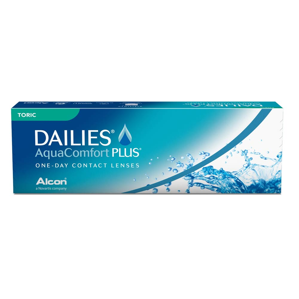 Alcon (Ciba Vision) Dailies AquaComfort Plus Daily TORIC (30 lenses pack)