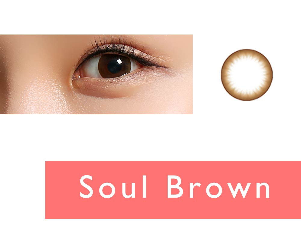 Clalen Iris One-day Color lenses Soul Brown (30 lenses pack)