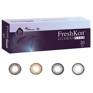 Freshkon Alluring Eyes One-day Color Lenses 4 Colors available (30 lenses pack)