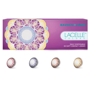 Bausch & Lomb Lacelle Color Series 4 Colors available (30 lenses pack)