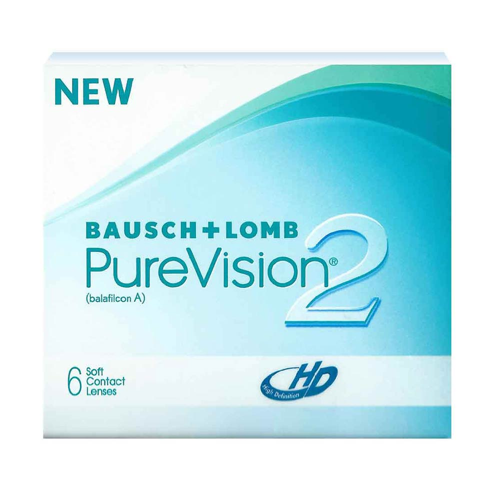 Bausch & Lomb Purevision 2 HD Monthly lenses (6 lenses pack)