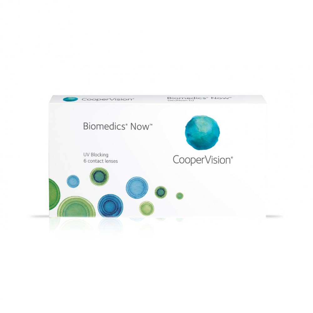 Cooper Vision Biomedics Now (Evolution 55) Monthly (6 lenses pack)