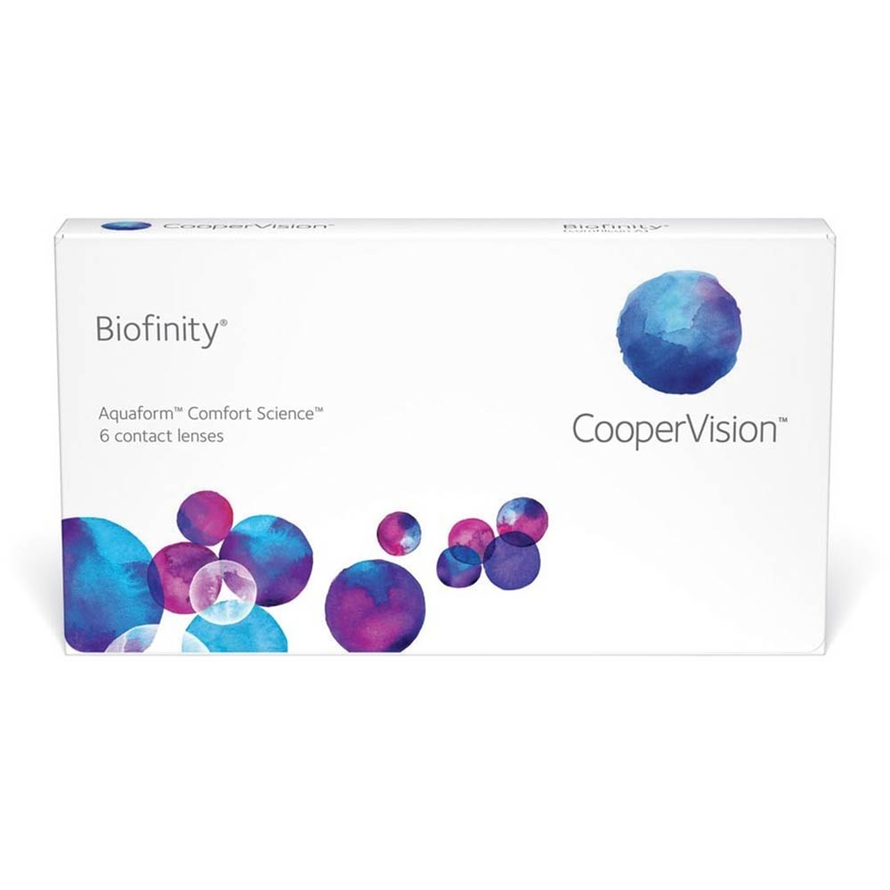 Cooper Vision Biofinity Monthly (6 lenses pack)