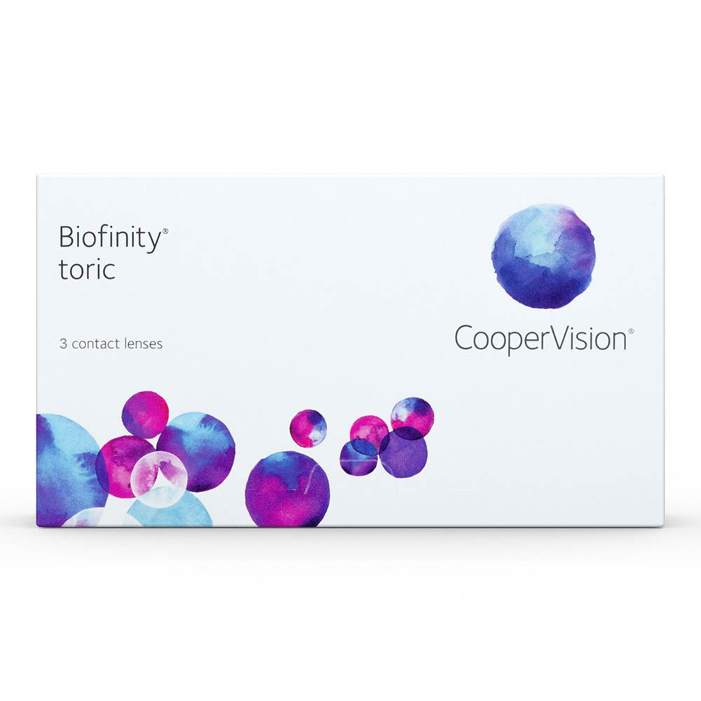Cooper Vision Biofinity TORIC Monthly  (3 lenses pack)