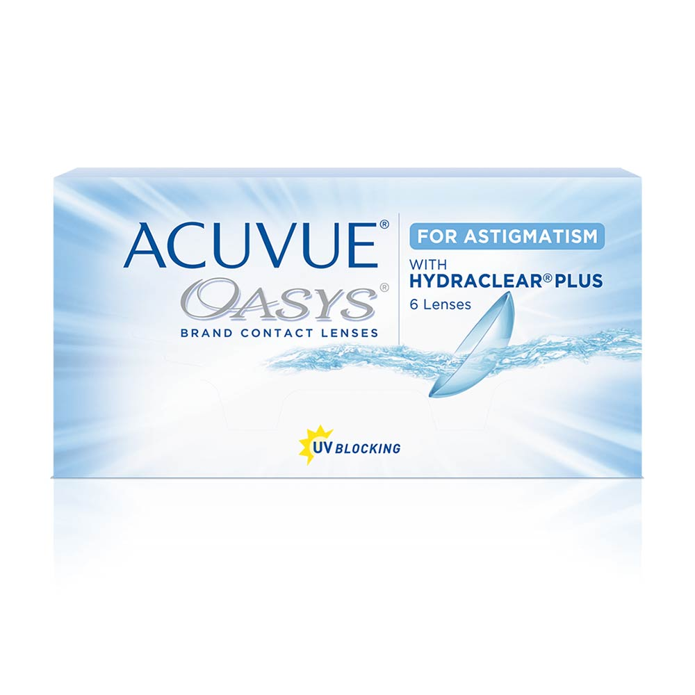 Acuvue Oasys for ASTIGMATISM 2 weeks (6 lenses pack)