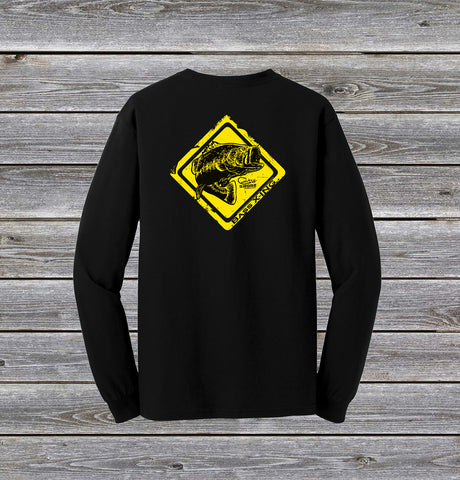 Bass Crossing Series Long Sleeve Tee with Pocket