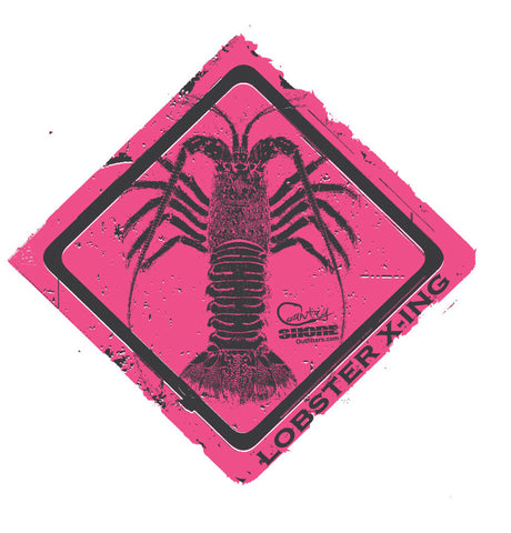 Lobster Crossing Series Ladies Short Sleeve Tee