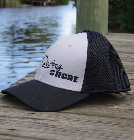Trucker Stretch Hat - Gray and Black Signature Series