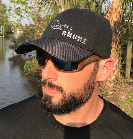 Black/Gray Stretch Fit Hat - Signature Series