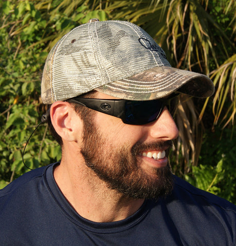 Camo Duck Hunter Mesh Hat