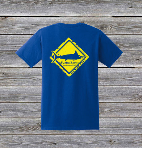 Marlin Crossing Series Short Sleeve Tee with Pocket