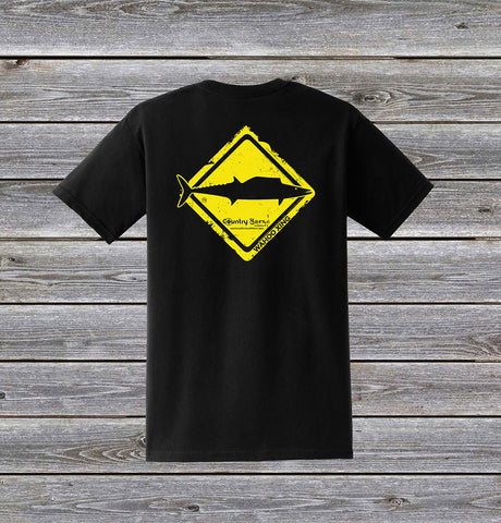 Wahoo Crossing Series Short Sleeve Tee with Pocket