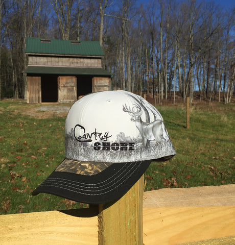 Camo Deer Hunter Hat