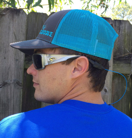 Signature Series Snapback Mesh Trucker Hat - Blue