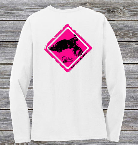 Quail Crossing Series Ladies Long Sleeve Tee