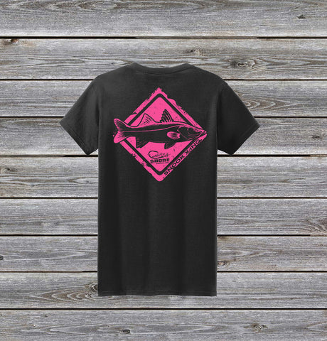 Snook Crossing Series Ladies Short Sleeve Tee