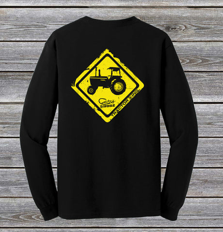 Tractor Crossing Series Long Sleeve Tee