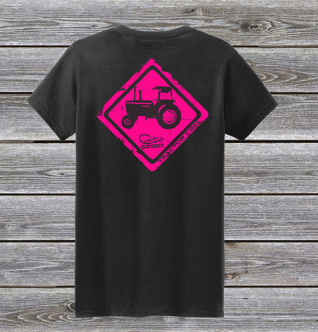 Tractor Crossing Series Ladies Short Sleeve Tee