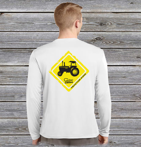 Tractor Crossing Performance Long Sleeve Shirt