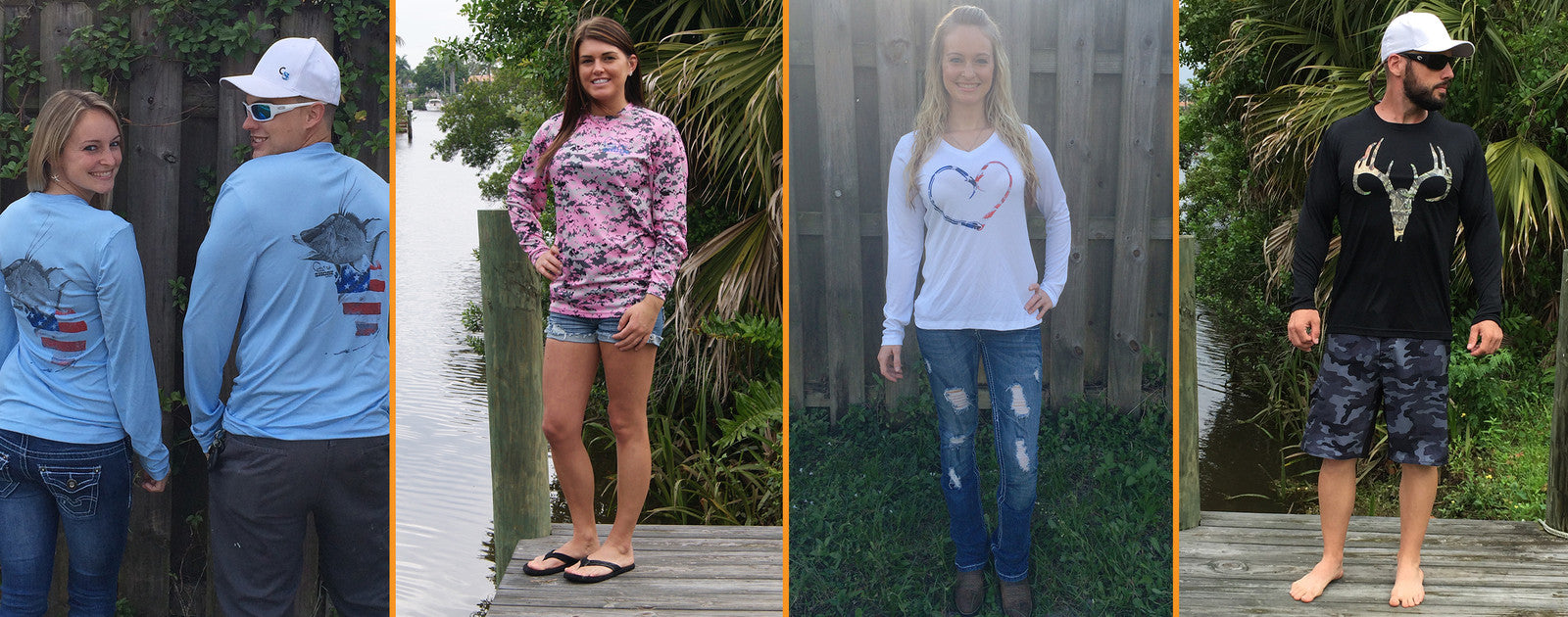 SPF Dry Fit Shirts and Dresses