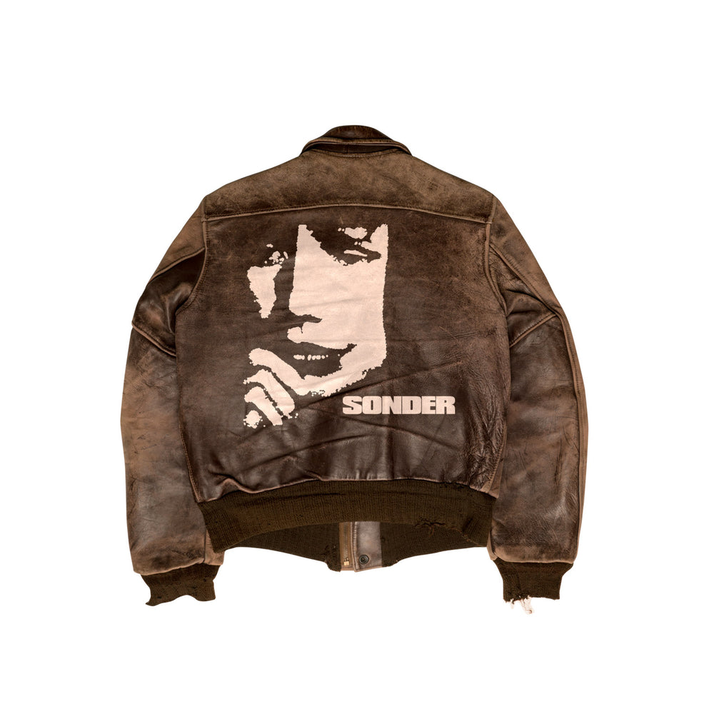 1/1 Sirens Vintage Leather Jacket