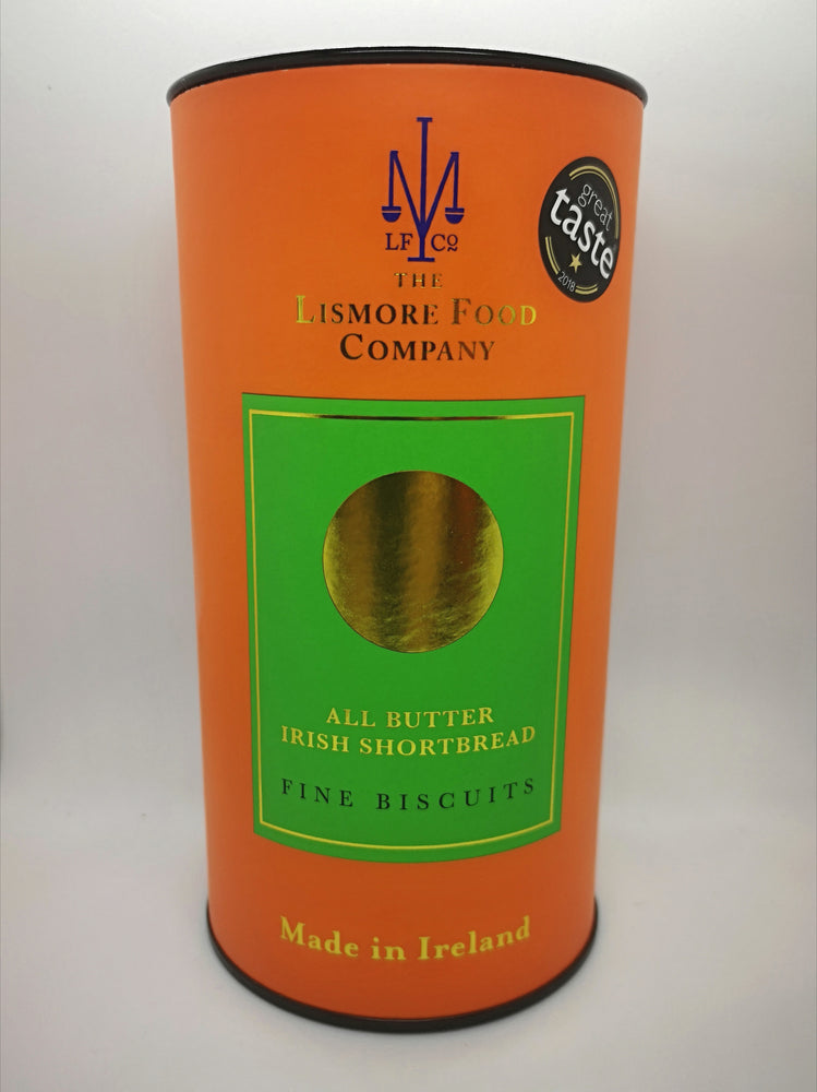 Lismore's All Butter Irish Shortbread, made using 100% creamy Irish Butter.