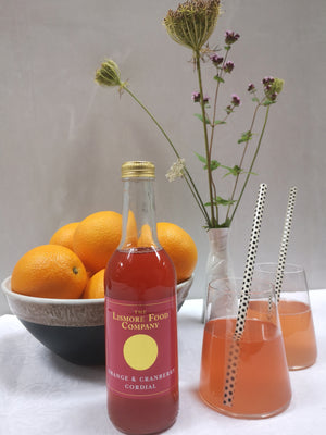 Load image into Gallery viewer, Lismore Orange & Cranberry Cordial.