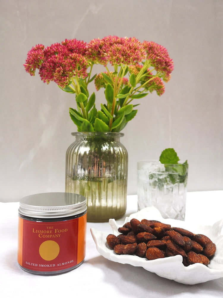 Load image into Gallery viewer, Lismore Salted Smoked Almonds. Perfect for Snacking!