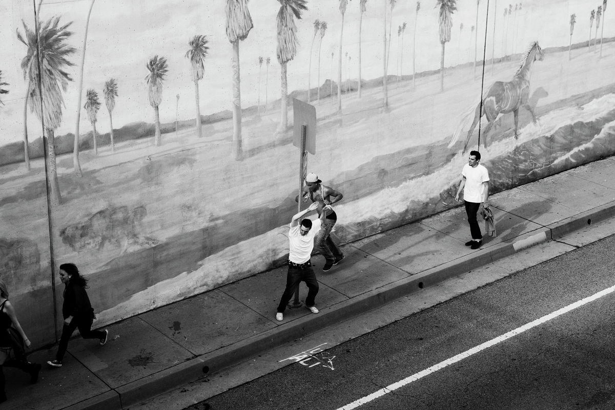 Free spirit, Los Angeles, 2012