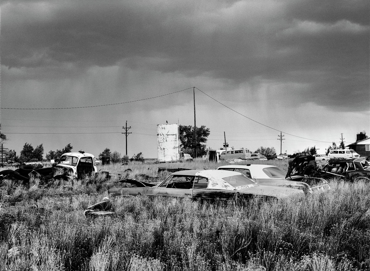 Scrapyard, Arizona, 1993