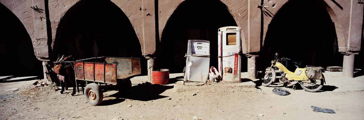 Out of gas, Morocco, 1996