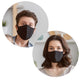 Basic Face Mask - Soft Fabric Washable & Reusable Protective Unisex Facemasks, 100% Cotton Fabric mask (Set of 4, 6, 8, 10)