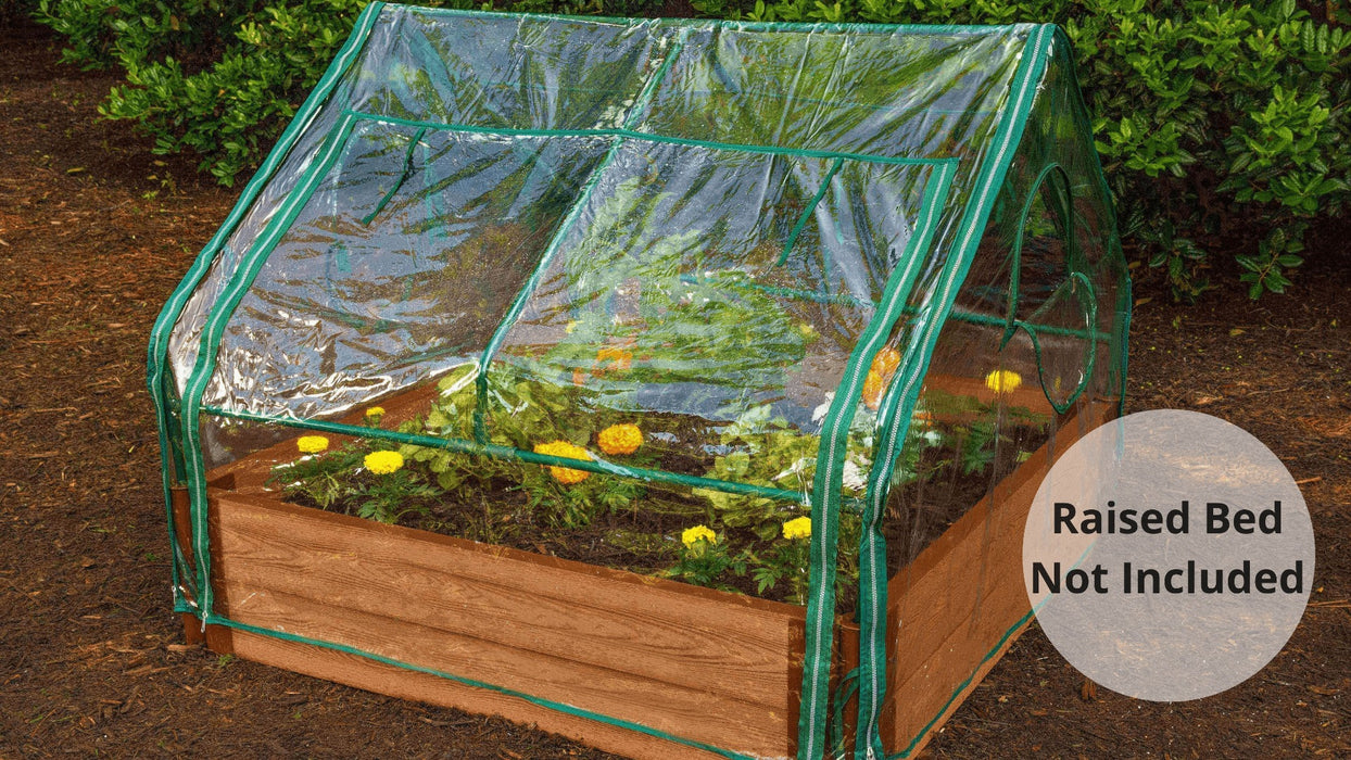 Extendable Cold Frame 'Greenhouse' - 4'x4' Accessories Frame It All