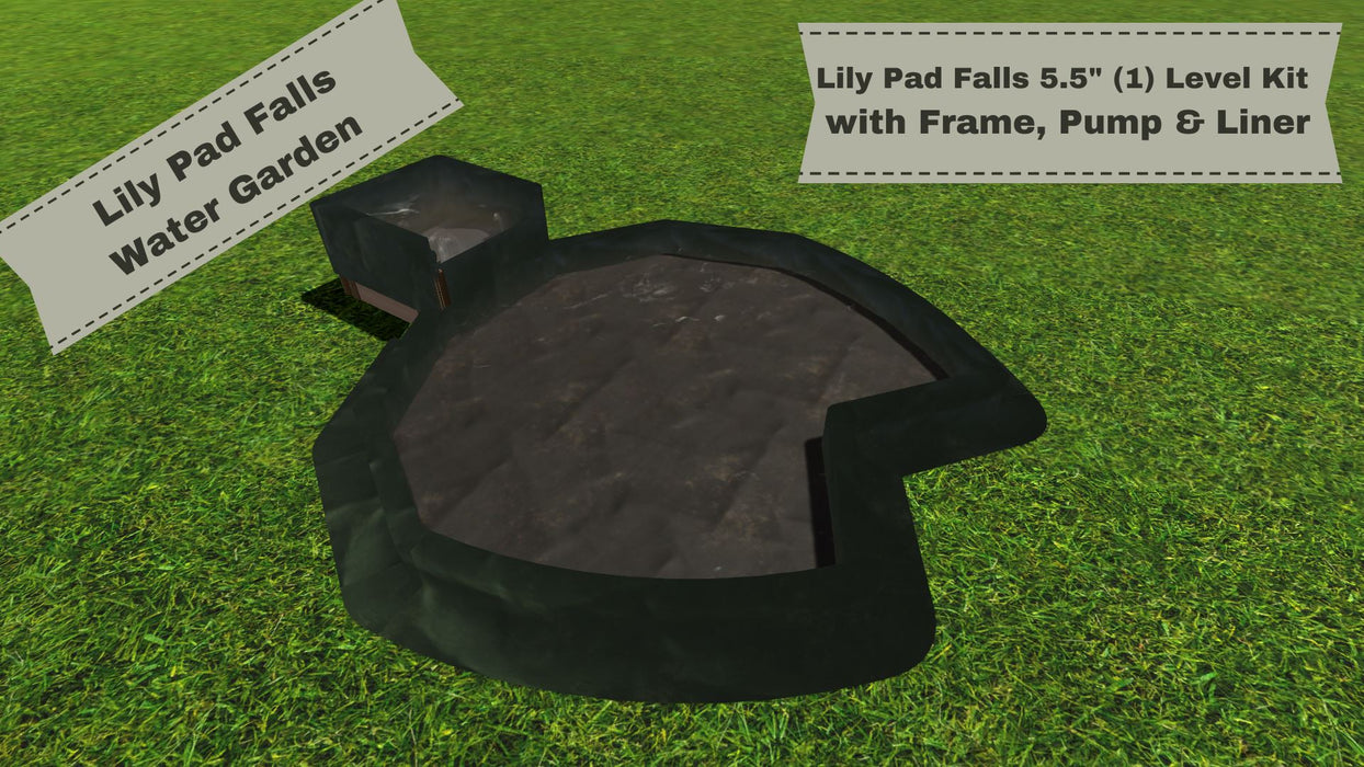 "Lily Pad Falls - ""You Dig"" - Pond Series Water Gardens Frame It All"