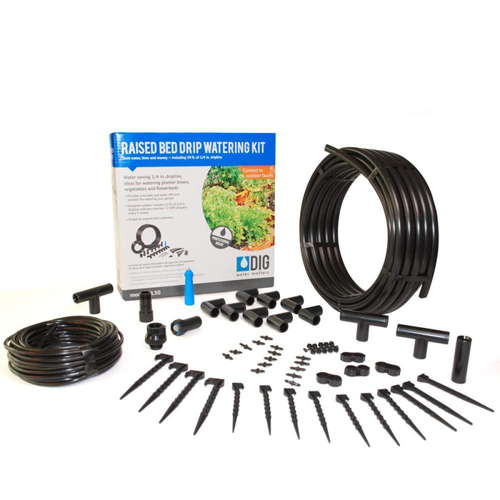 Raised Bed Drip Irrigation Kit Accessories Frame It All