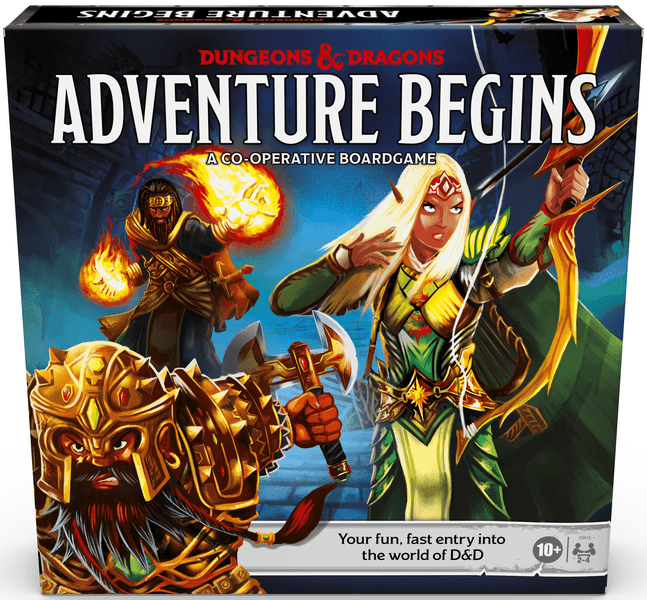 Dungeons & Dragons - Adventure Begins | Out of the Box Gaming