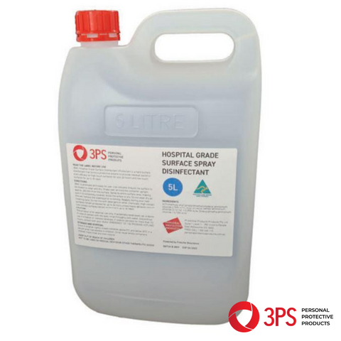 Hospital Grade Surface Disinfectant 5L (Pack of 4)