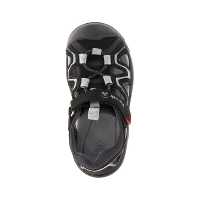 BLACK CHARCOAL : KICK (Toddlers) Top View