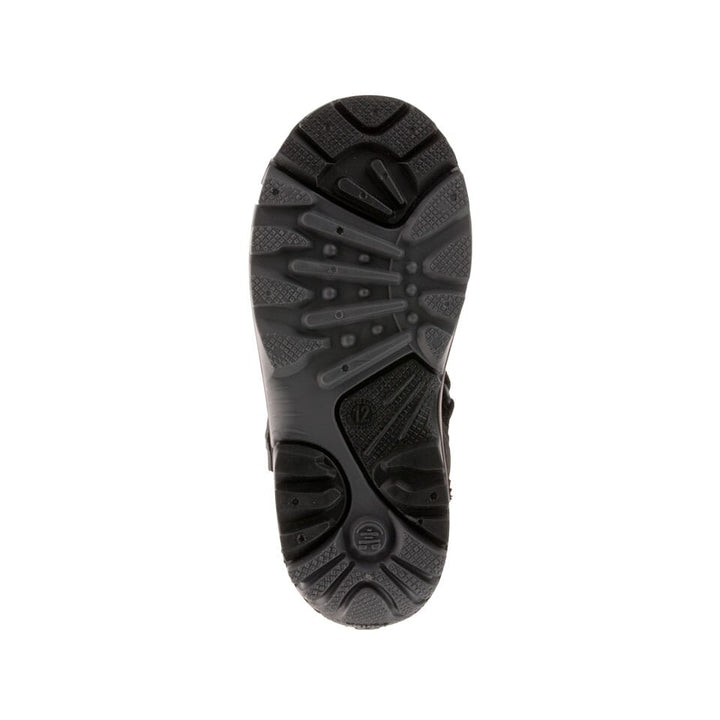 BLACK CHARCOAL : SNOWFALL Sole View