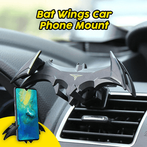 Bat Wings Car Phone Mount