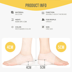 Invisible Height Footbed Enhancers