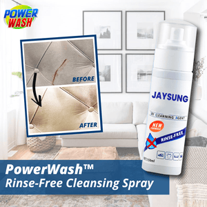 PowerWash™ Rinse-Free Cleansing Spray