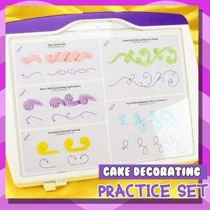 Cake Decorating Practice Kit